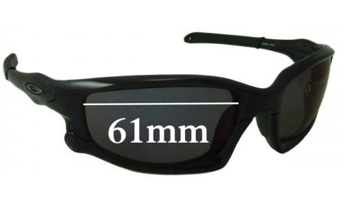 Oakley Split Jacket Replacement Sunglass Lenses - 61mm Wide