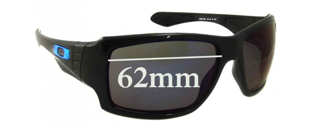 f604983603 Oakley Big Taco Replacement Sunglass Lenses - 62mm Wide
