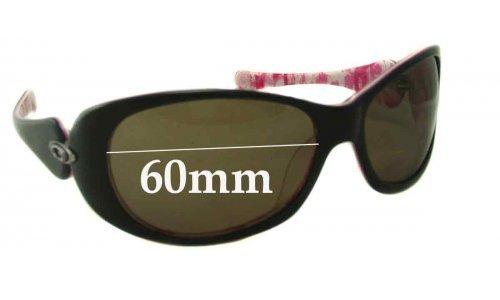 Oakley Dangerous New Sunglass Lenses - 60mm Wide