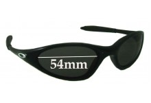 Oakley Minutes 1.0 Replacement Sunglass Lenses - 54mm across