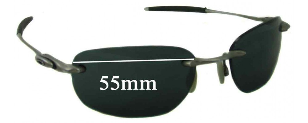 Oakley Why 8.1 Replacement Sunglass Lenses - 55mm Wide