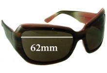 Oliver Peoples Athena Replacement Sunglass Lenses - 62mm wide