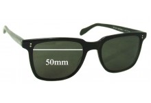Oliver Peoples OV5031 Replacement Sunglass Lenses - 50mm wide