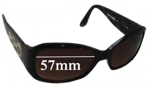 Oroton Drift Away Replacement Sunglass Lenses - 57mm Wide
