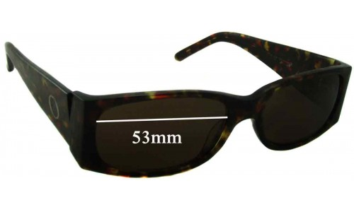 Oroton Tokyo Replacement Sunglass Lenses - 53mm Wide
