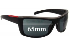Prada Replacement Sunglass Lenses SPS02h - 65mm Wide