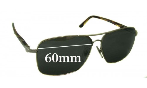 Persol 2394-S Replacement Sunglass Lenses - 60mm Wide