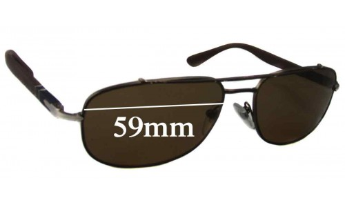 Persol 2405 S New Sunglass Lenses - 59mm Wide