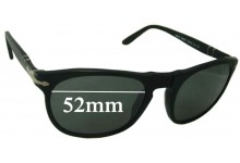 Persol 2994-S Replacement Sunglass Lenses - 52mm Wide