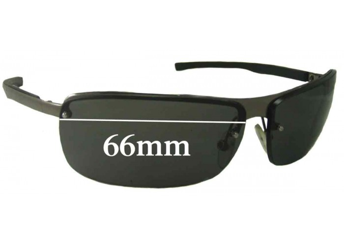 SFX Replacement Sunglass Lenses fits Police S8338 64mm Wide