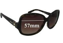 Prada SPR17N Replacement Sunglass Lenses - 57mm wide