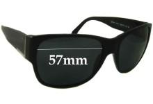 Prada SPR18H Replacement Sunglass Lenses - 57mm wide
