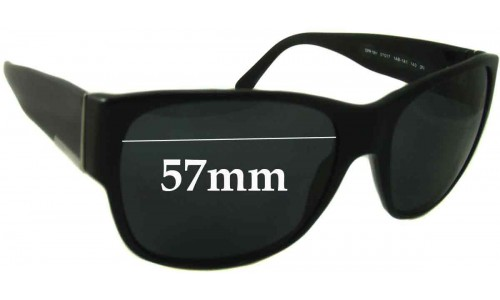 Prada SPR18H Replacement Sunglass Lenses - 57mm wide