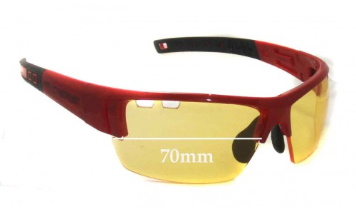 Ryders Cadence Replacement Sunglass Lenses - 70mm wide