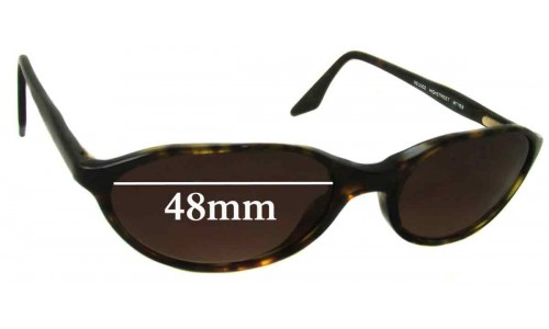 Ray Ban RB2003 Highstreet Replacement Sunglass Lenses - 48mm Wide