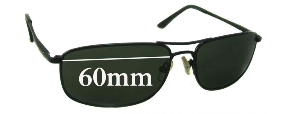 Ray Ban RB3147 Replacement Sunglass Lenses 59mm-60mm Wide