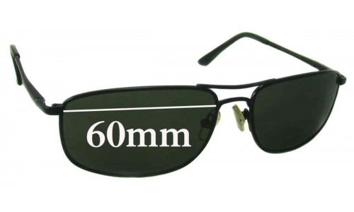 Sunglass Fix Replacement Lenses for Ray Ban RB3147 59mm-60mm Wide