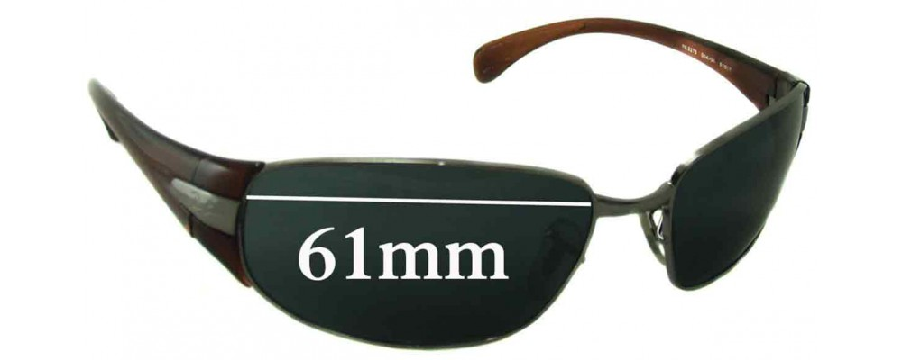 Ray Ban RB3275 Replacement Sunglass Lenses - 61mm wide