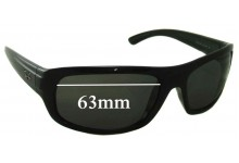 Ray Ban RB4166 Replacement Sunglass Lenses - 63mm Wide