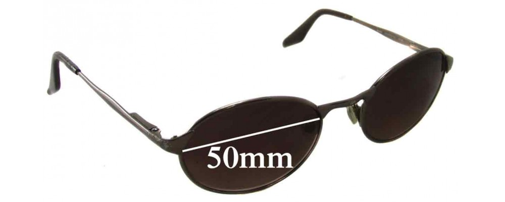 Ray Ban Highstreet Mo RB3002 Replacement Sunglass Lenses - 50mm wide