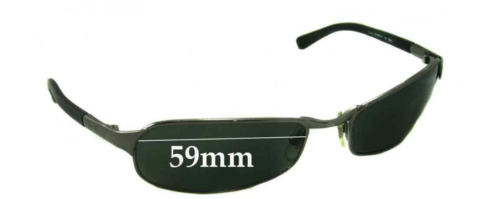 Ray Ban RB3149 Replacement Sunglass Lenses - 59mm Wide