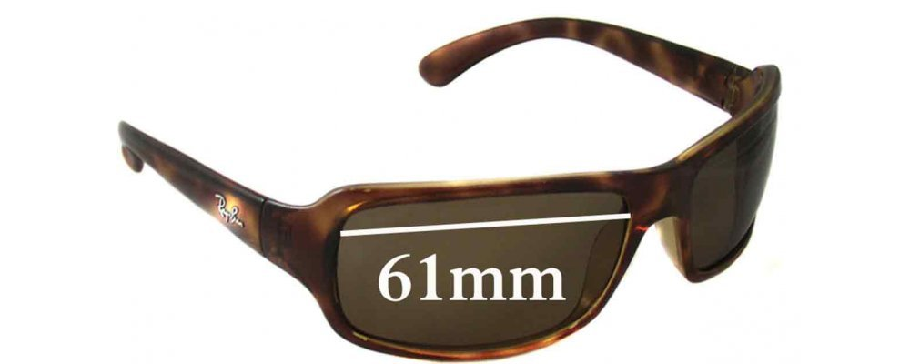 ray ban rb4075  ray ban rb4075 replacement sunglass lenses 61mm wide