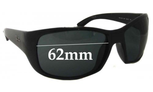 Ray Ban RB4149 Replacement Sunglass Lenses - 62mm Wide