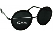 Rorgge 7778 Replacement Sunglass Lenses - 52mm Wide