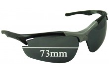 Ryders Treviso R387-003 Replacement Sunglass Lenses - 73mm wide