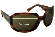 Salt Sawyer Replacement Sunglass Lenses - 62mm wide