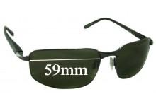 Sunglass Fix Replacement Lenses for Serengeti Luigi - 59mm wide