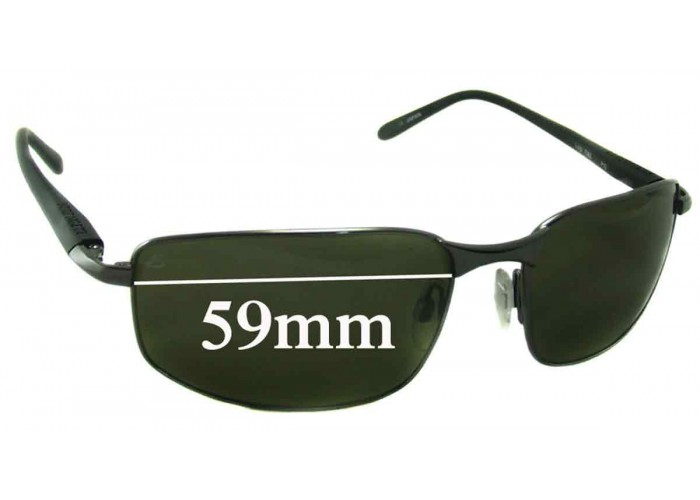 SFX Replacement Sunglass Lenses fits Serengeti Sorrento 59mm Wide