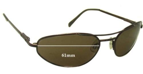 830dce9c54 Serengeti Tanaga Replacement Sunglass Lenses - 61mm wide. Serengeti Drivers  5222C Replacement Sunglass Lenses - 63mm wide x 57mm tall