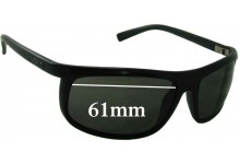 Sunglass Fix Replacement Lenses for Serengeti Velino - 61mm wide