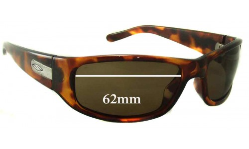 Smith Projekt Replacement Sunglass Lenses - 62mm wide