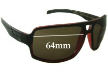 Smith Swindler Replacement Sunglass Lenses 64mm wide