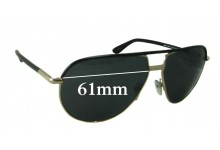 Tom Ford Cole TF 285 Replacement Sunglass Lenses - 61mm wide