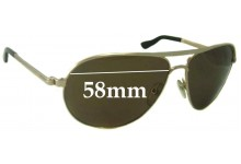 Tom Ford Marko TF 144 Replacement Sunglass Lenses - 58mm wide