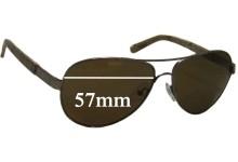 Tory Burch TY6010 Sunglass Replacment Lenses - 57mm Wide