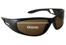 Ugly Fish PT606 Replacement Sunglass Lenses - 66mm Wide