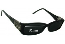 Valentino 5725 Replacement Sunglass Lenses - 52mm Wide
