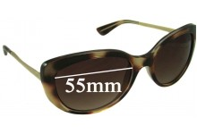 Vogue VO2731-S Replacement Sunglass Lenses - 55mm Wide
