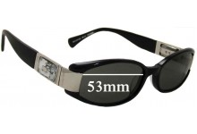 Sunglass Fix New Replacement Lenses for Alex Perry AP Sun Rx 17 - 53mm Wide