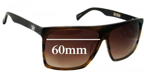 am eyewear cobsey replacement sunglass lenses 60mm wide