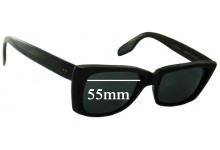 American Optical Seafarer Replacement Sunglass Lenses - 55mm wide