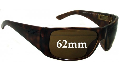 Sunglass Fix Replacement Lenses for Arnette Change Up AN4183 - 62mm Wide