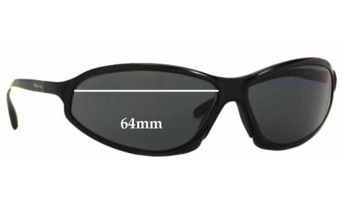 Arnette AN3041 Metal Replacement Sunglass Lenses - 64mm wide