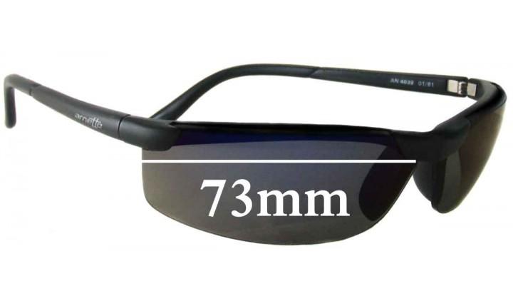 SFX Replacement Sunglass Lenses fits Arnette AN4035 59mm Wide