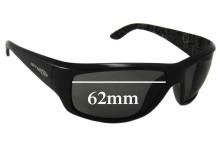 AN4166 Arnette Cheat Sheet Replacement Sunglass Lenses - 62mm wide