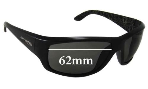 Sunglass Fix Replacement Lenses for AN4166 Arnette Cheat Sheet - 62mm wide